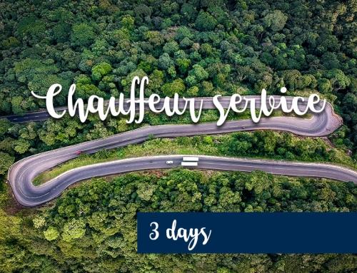 Chauffeur service – 3 days